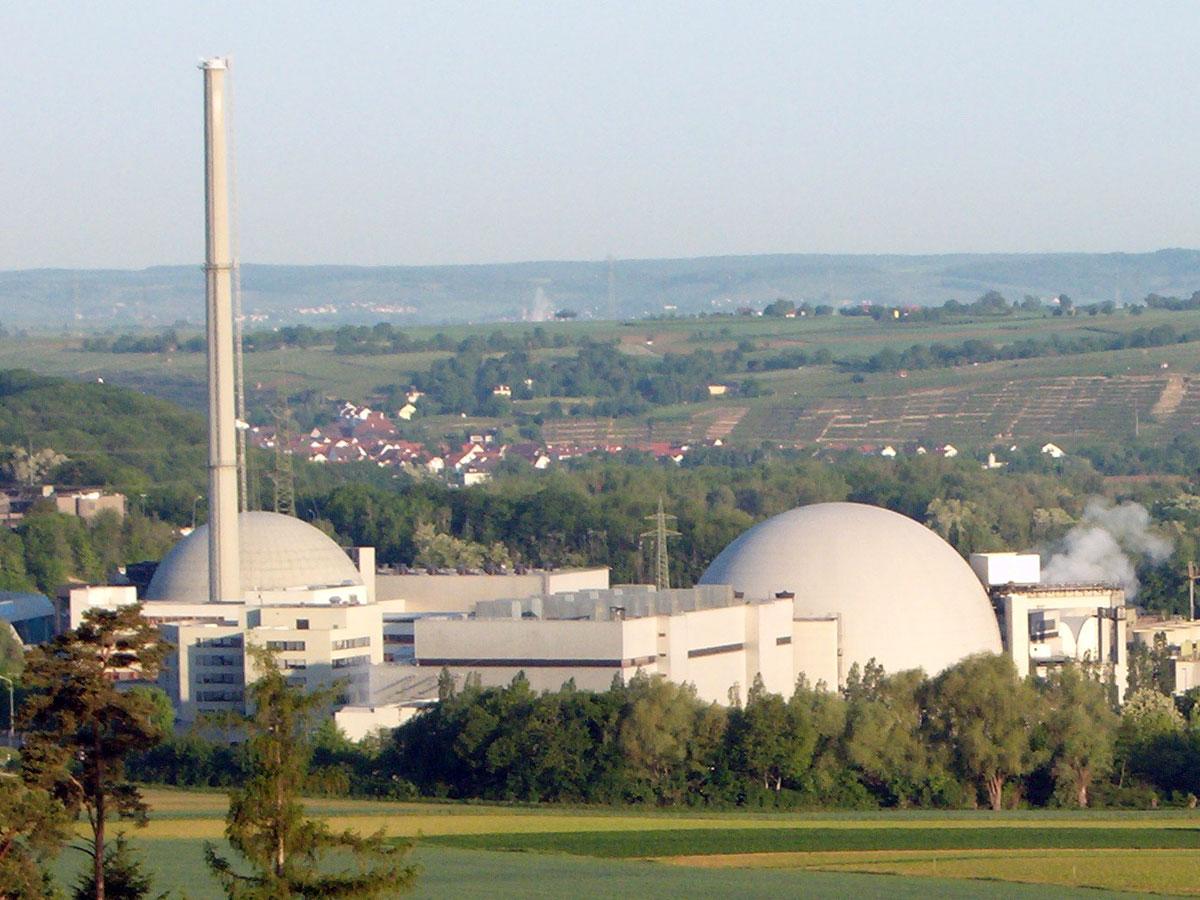 Kernkraftwerk Neckarwestheim (Foto: wikimedia.org)
