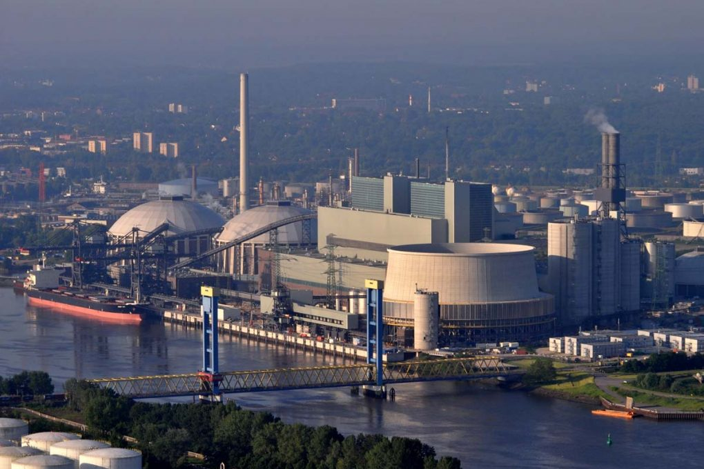 Kohlekraftwerk Hamburg Moorburg, Foto: Wikipedia