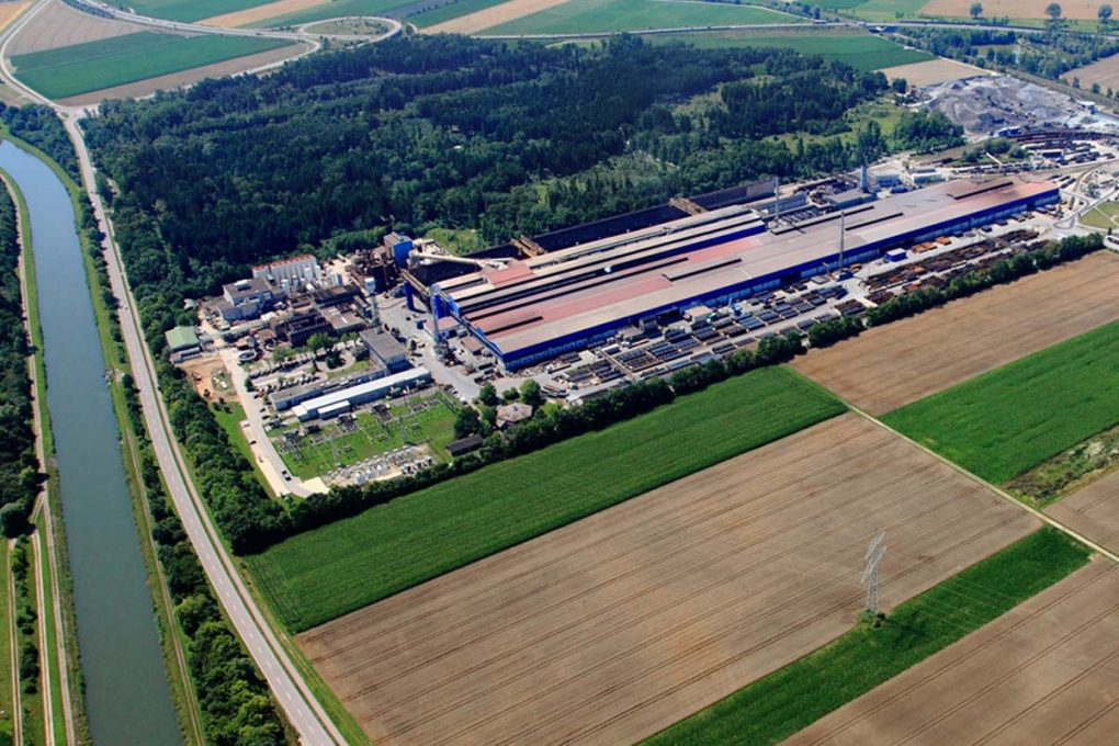 Lech-Stahlwerk, Meitingen, Foto: Lech-Stahlwerk