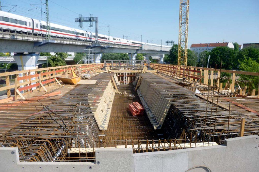 Bahnprojekt S 21, Berlin, Foto: Deutsche Bahn AG/Peter Boje