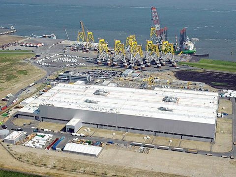 Siemens Gamesa Offshore-Werk, Cuxhaven, Foto: Siemens Gamesa