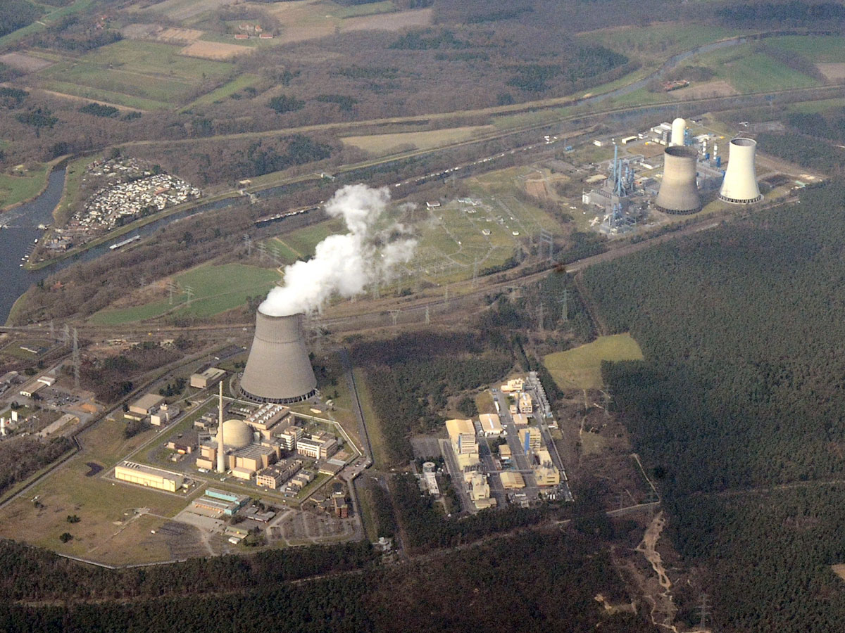 Erdgaskraftwerk Lingen (Foto: wikimedia.org)